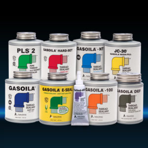 Gasoila selection of Pipe Thread Sealants