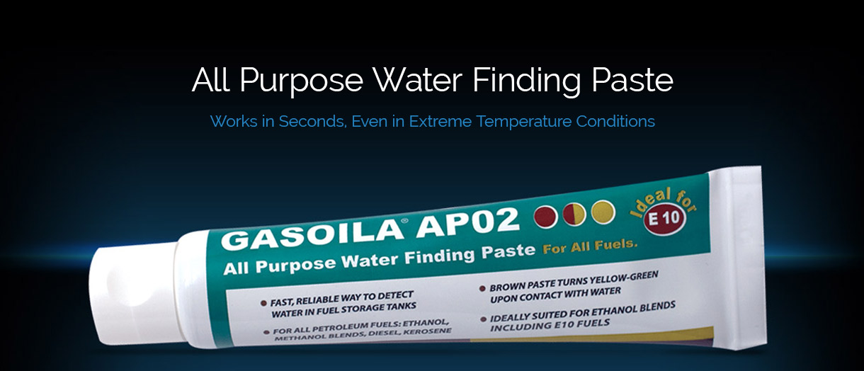Gasoila AP02 All Purpose Water Finding Paste - Works in Seconds. Even in extreme temperature conditions