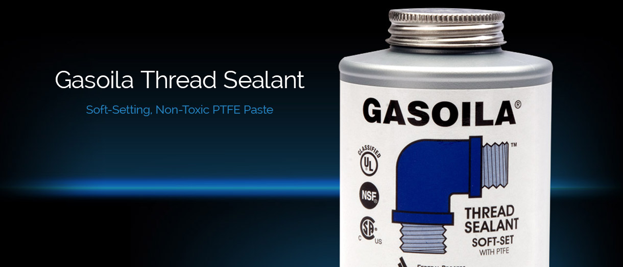 Gasoila Thread Sealant - Soft-Setting. Non-Toxic PTFE Pastet